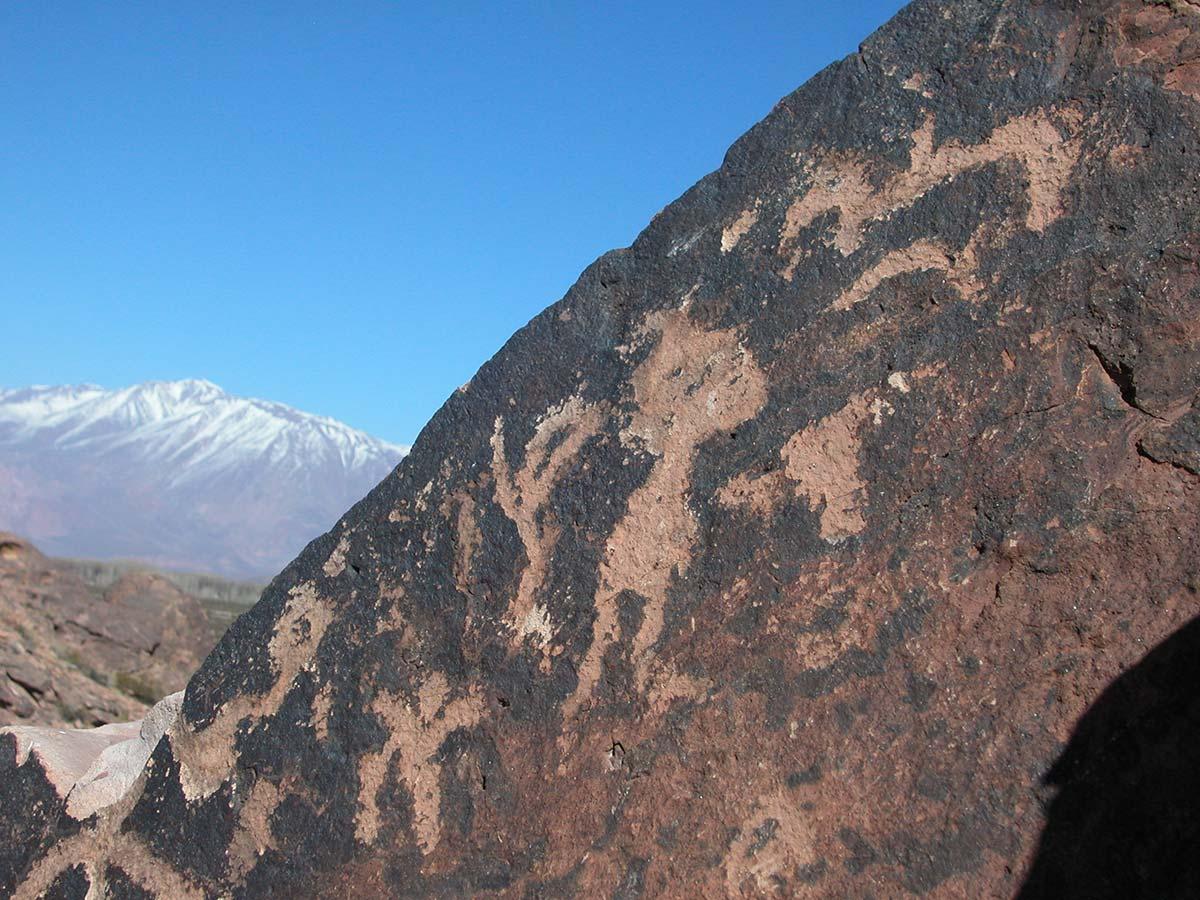 Petroglifos en el Tunduqueral, se estima que datan del siglo I al VIII d.C.