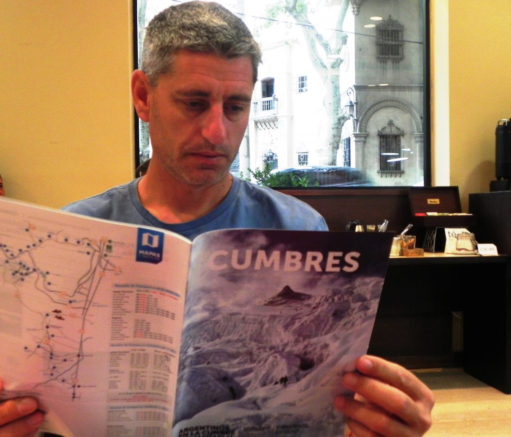 """Uno de los realizadores de """"Dhaulagiri"""", Guillermo Glass, en diálogo con CUMBRES."""