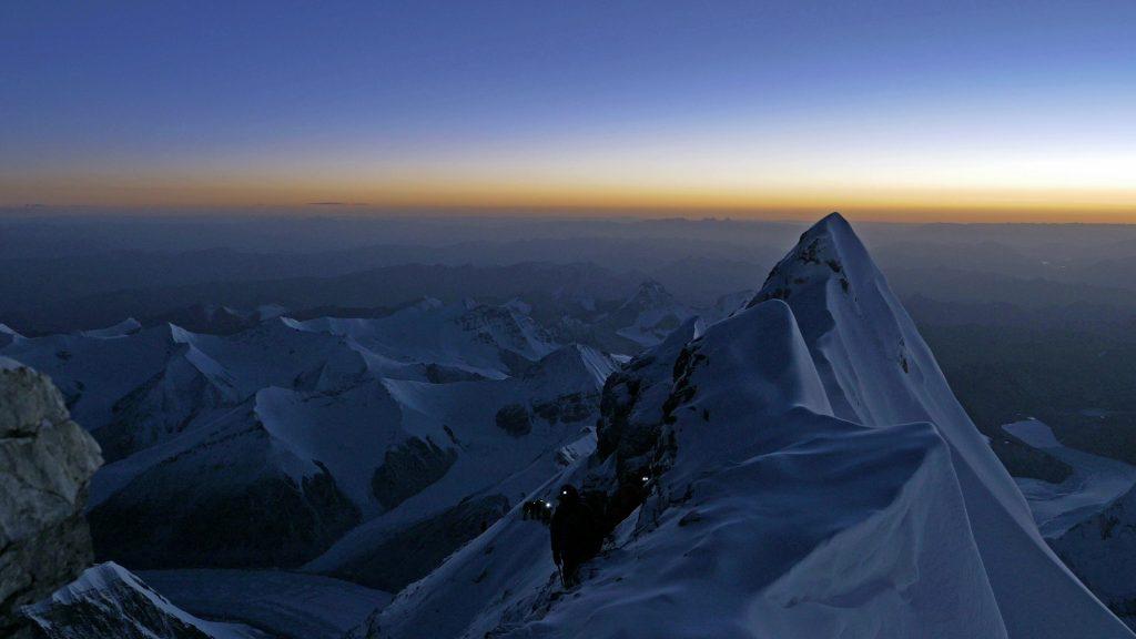 Último tramo antes de la ansiada cumbre del Everest.